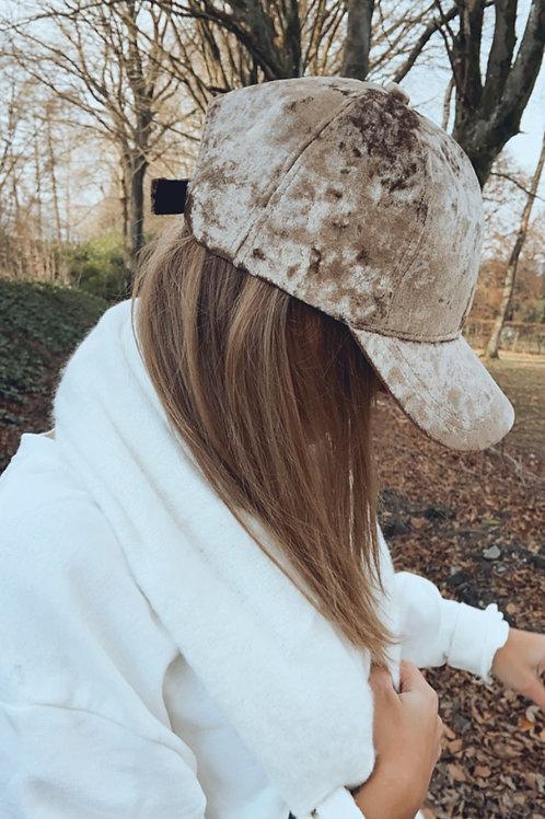 Casquette Elias beige