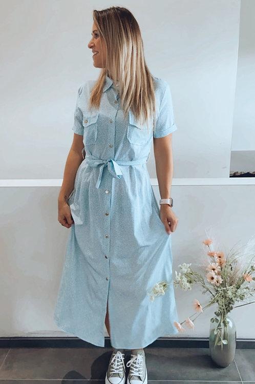 Robe Louise bleue
