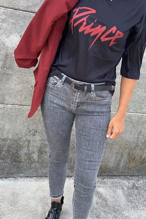 T-shirt Prince noir