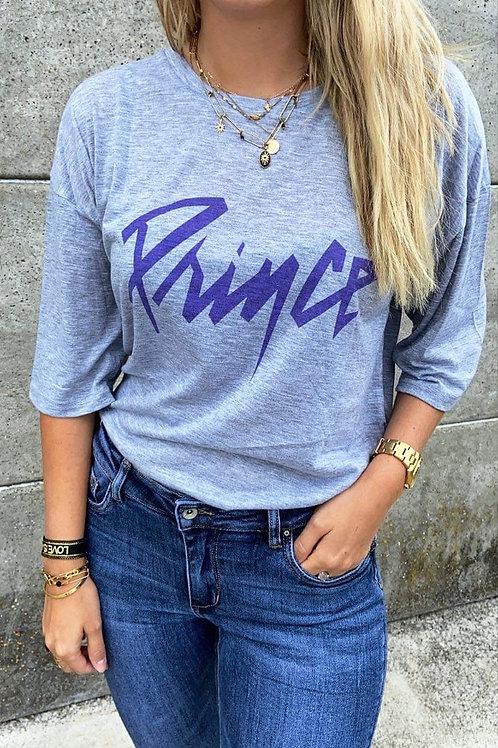 T-shirt Prince gris