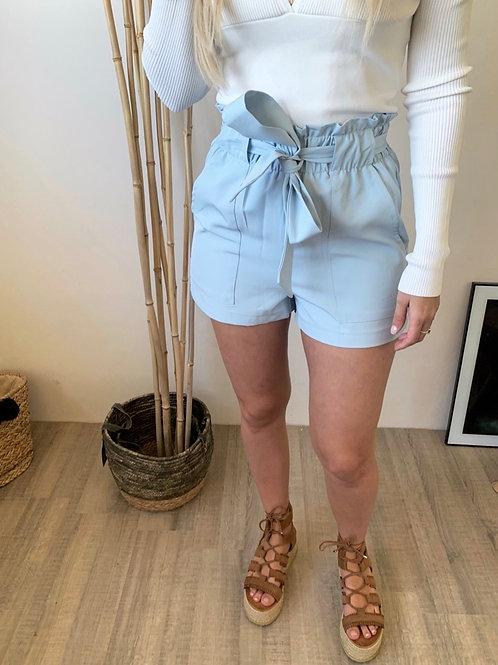 Short Ugo bleu