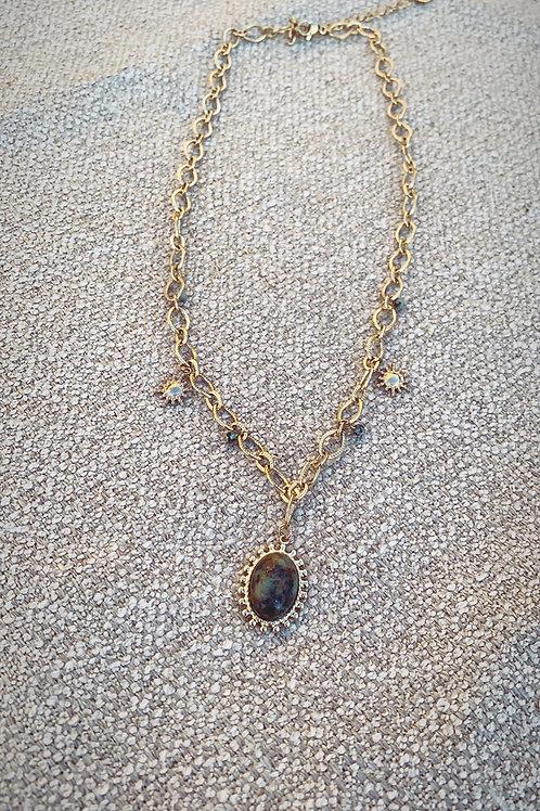Collier Claudine turquoise