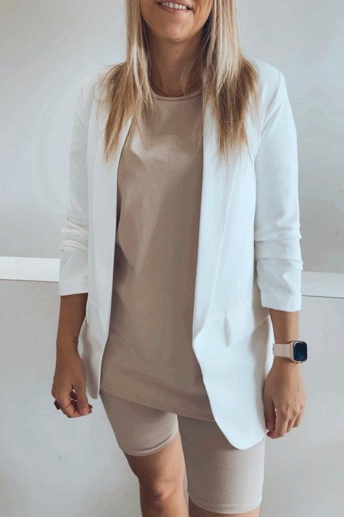 Blazer Sophie blanc