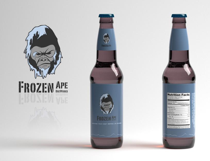 Frozen Ape Breworks Brand Identity