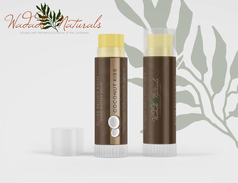 Wadadli Naturals Lip Balm Packaging Design