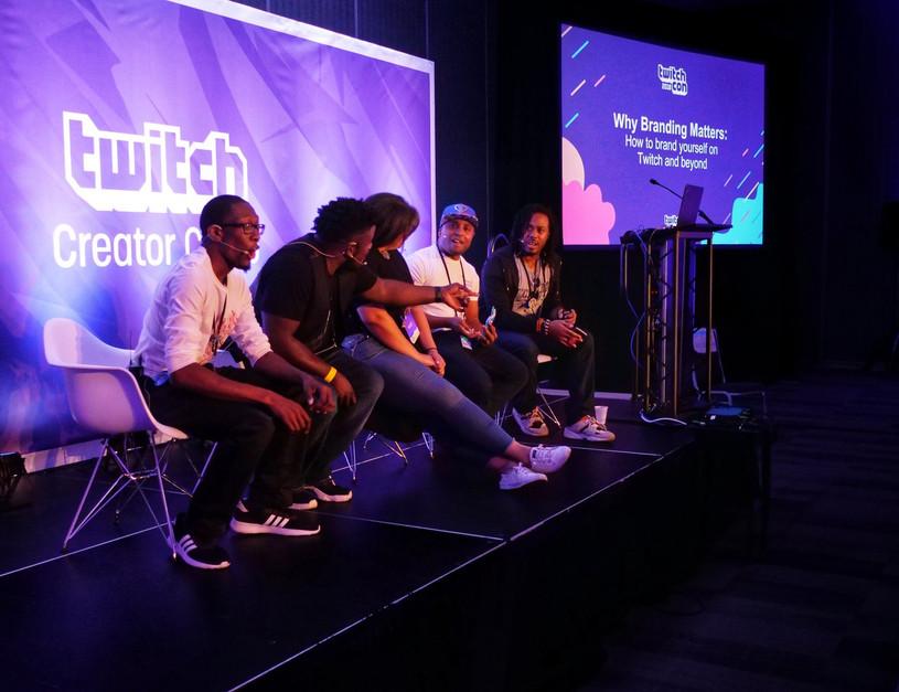 Twitch Creators Camp Branding Panel