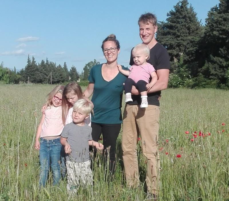 Luke, Laura et leurs 4 enfants
