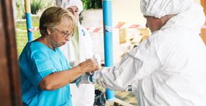 Les survivants d'Ebola en action