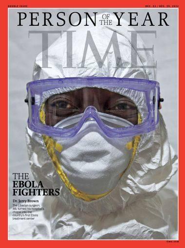 """Les combattants d'Ebola """"personnes de l'année 2014"""""""