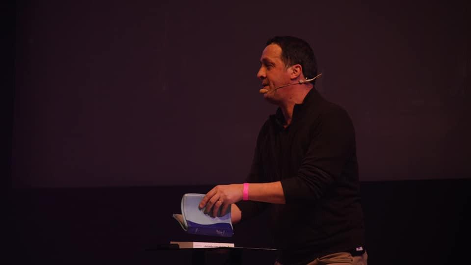 Manu Renard, orateur de l'événement