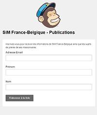 SIM France-Belgique - S'abonner