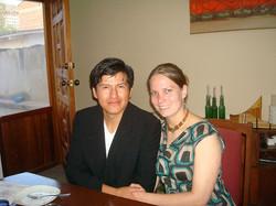 Diego et Janita Ortiz-Geertsema