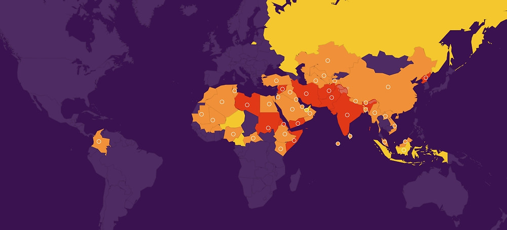 Index de persécution des chrétiens 2020 - Portes Ouvertes