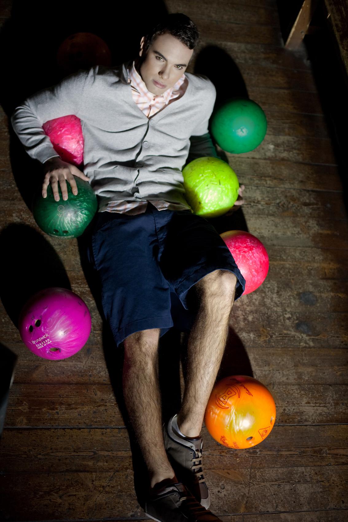 Bowling photoshoots for LA'ISHA magazin