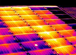 Termografia Sistema Fotovoltaica