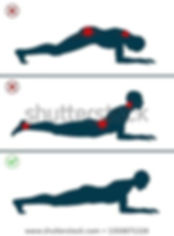 back pain relief from plank exercise