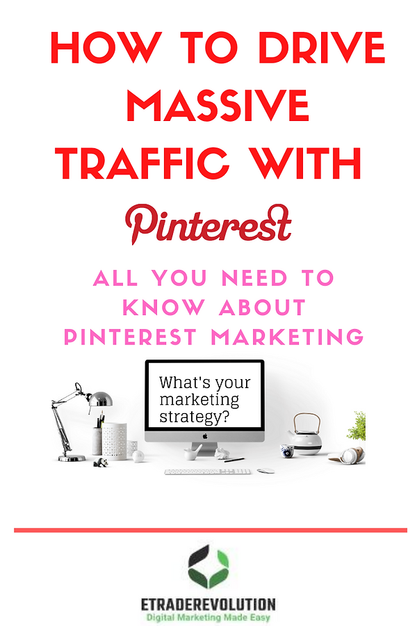 Master pinning stratgey to drive massive traffic to your blogs or websites.