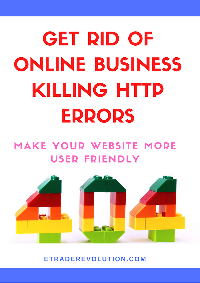 How to handle website Http errors.