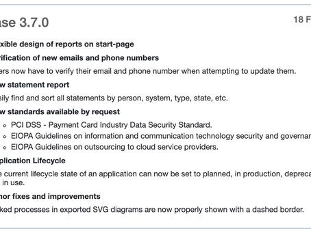 ESM release v 3.7.0