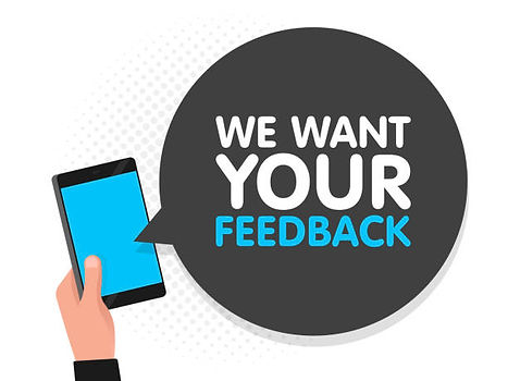 We want your feedback clipart.jpg