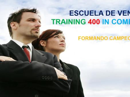 ESCUELA DE VENTAS TRAINING 400