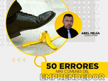 50 Errores mas comunes de los Emprendedores