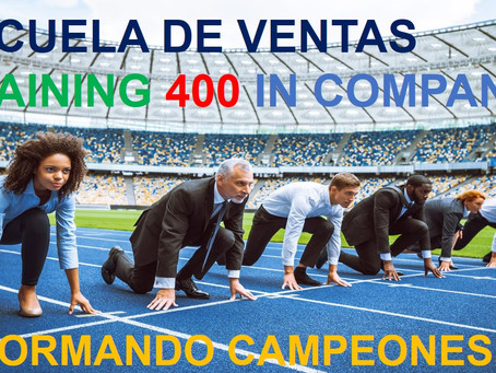ESCUELA DE VENTAS TRAINING 400