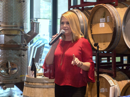 Wine a little…laugh a lot!  – Meet Laurie 17 of 52 Phenomenal Women
