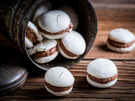 The perfect chocolate macaroons