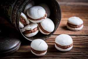 Secret's out: grandma's chocolate macaron recipe