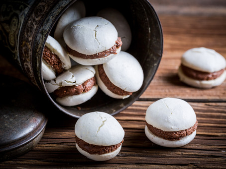 The perfect chocolate macarons