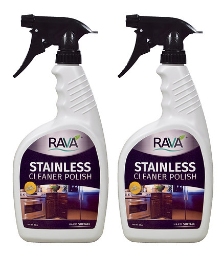 Stainless Cleaner Polish - 2 pack