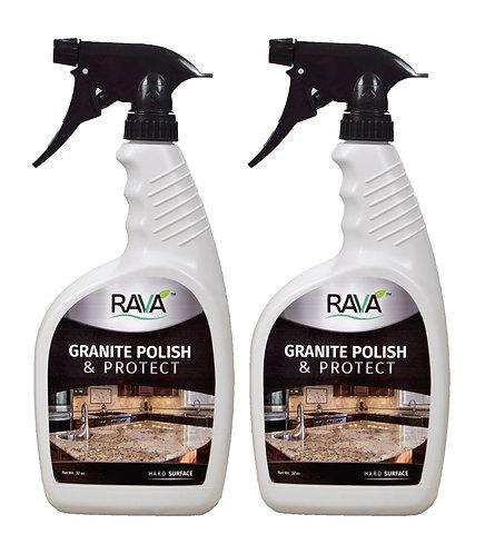Granite Polish and Protect - 2 pack