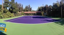 ¿Cómo pintar una cancha de tenis o multicancha con pinturas acrílicas?