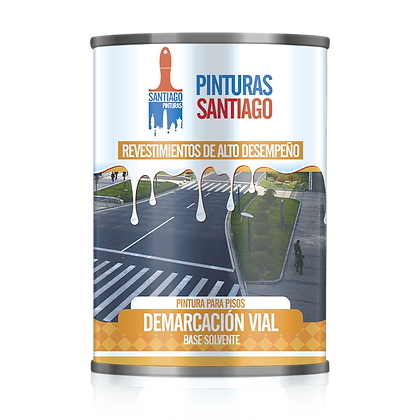 PINTURA PARA DEMARCACIÓN VIAL - SOLV (1 galón)