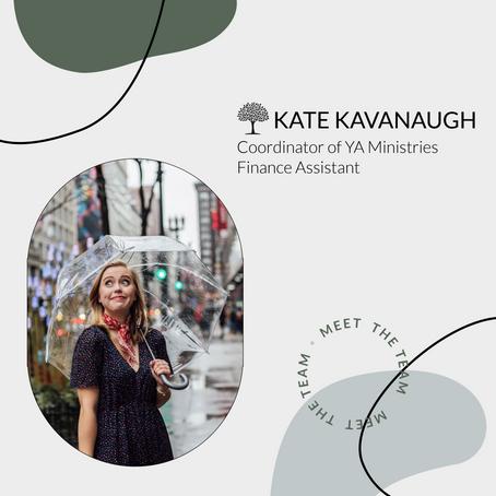 Meet the Team: Kate Kavanaugh