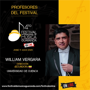 William Vergara Festival GuarandaGuaranda