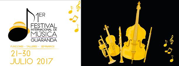 1er festival Internaciona de musica Guaranda