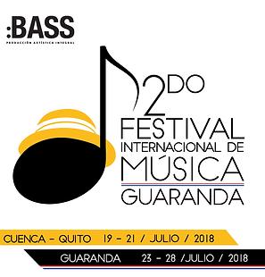 Festival Internacional de Muica Guaranda 2018