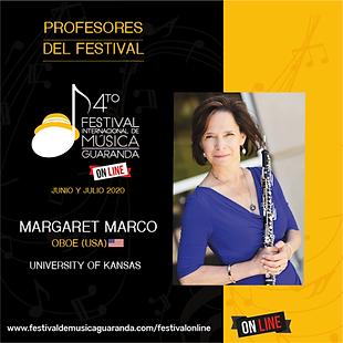 Margaret Marcos oboe festival Guaranda
