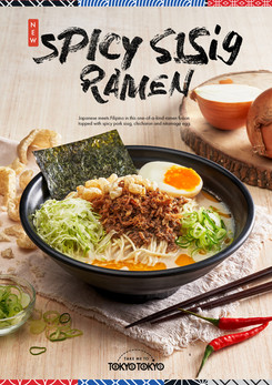 Reimagining A Japanese Classic with A Filipino Twist: Tokyo Tokyo's Spicy Sisig Ramen