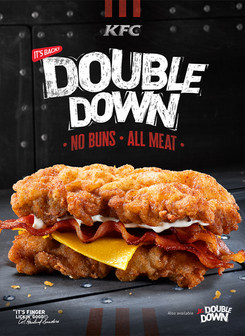 Unleash the carnivore in you as KFC Double Down returns!