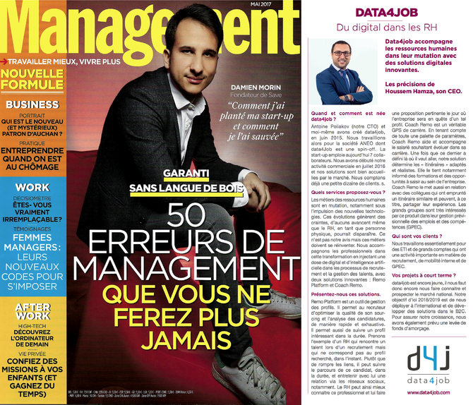 #Presse - Magazine Management