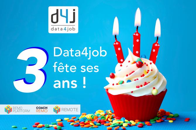 Et de 3 pour Data4job !