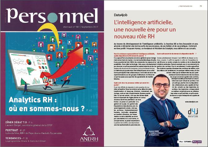#Presse - Magazine Personnel / ANDRH