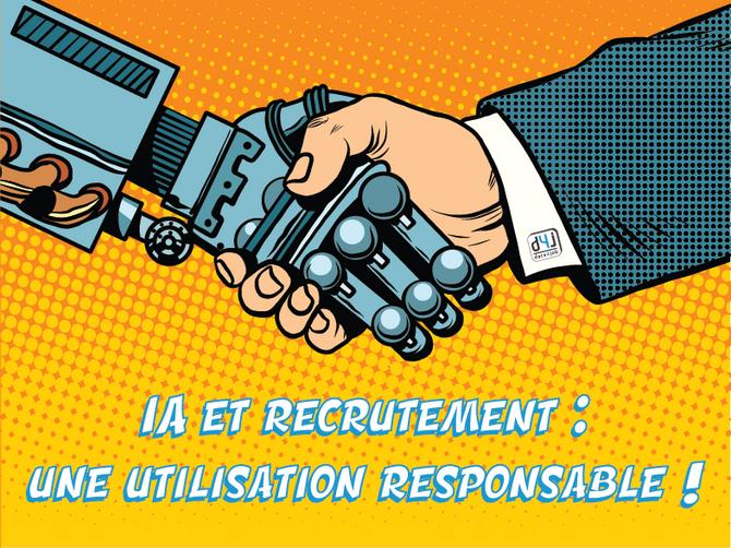 #Presse - Intelligence Artificielle et recrutement : une utilisation responsable !