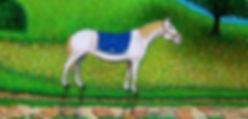 le cavalier du cheval blanc par Louis Chiren
