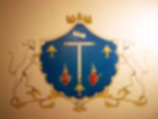 armoiries du grand monarque, Louis Chiren, armes du grand monarque, blason du grand monarque