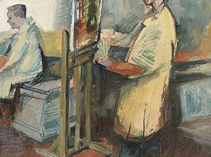 Jaap Hillenius - In 't atelier van de schilder