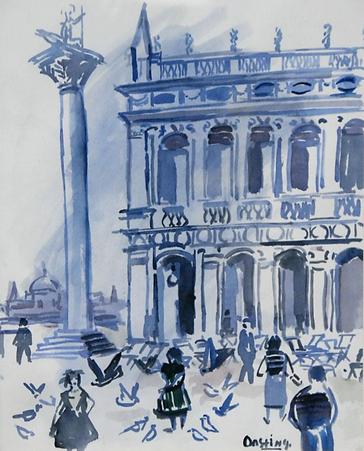 Jeanne Bieruma Oosting - Piazetta, Venetië